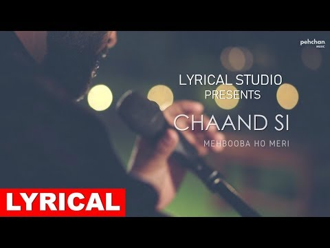Chand Si Mehbooba - Lyrical Video - Unplugged Cover | Vivek Singh | Sharad | Jugal