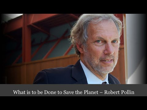 What is to be Done to Save the Planet – Robert Pollin