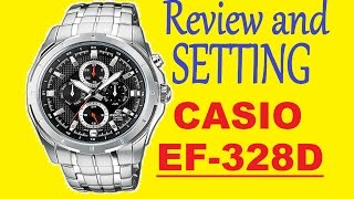 Review and setting watches Casio Edifice EF-328D-1AVEF | Official World Watches(Review and setting watches Casio Edifice EF-328D-1AVEF. Manual EF-328D - https://yadi.sk/i/dtE7tWaSmWf5G Instruction Casio Edifice EF-328D-1AVEF., 2015-12-26T21:37:54.000Z)