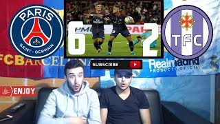 NEYMAR SHOW - NEYMAR OUTCLASSED TOULOUSE WITH 2 GOALS & 2 ASSISTS- HIGHLIGHTS REACTION