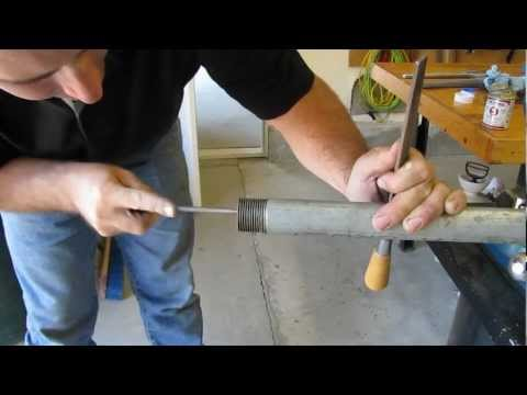 DIY Plumbing Basics – Galvanized and PVC Pipe