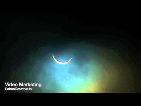 Partial Solar Eclipse Ulverston Cumbria