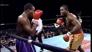 Donovan Razor Ruddock vs Mike Weaver MUST SEE!!