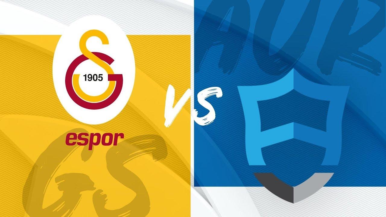 E Spor,  Doğuş Uni Aurora  ( AUR ) vs Galatasaray Espor  ( GS ) | 2019 Kış Mevsimi 4. Hafta
