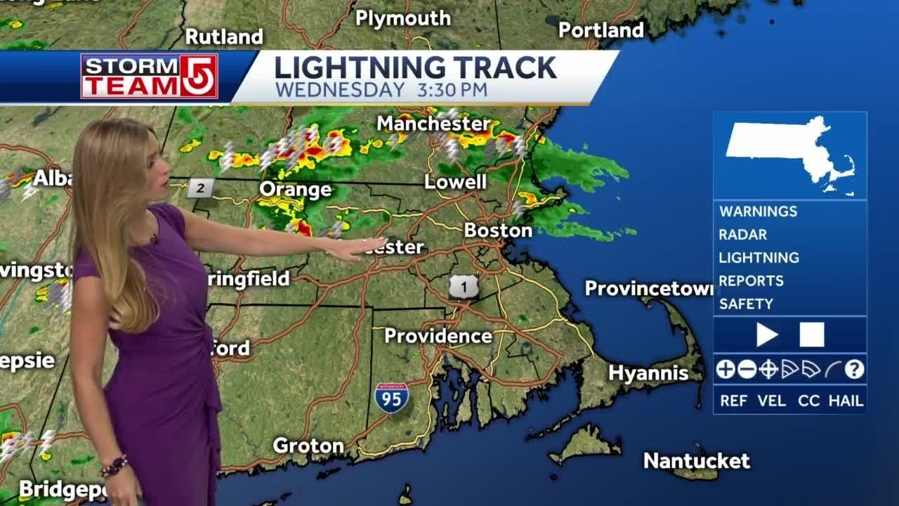 A Severe Thunderstorm Watch is in effect tonight
