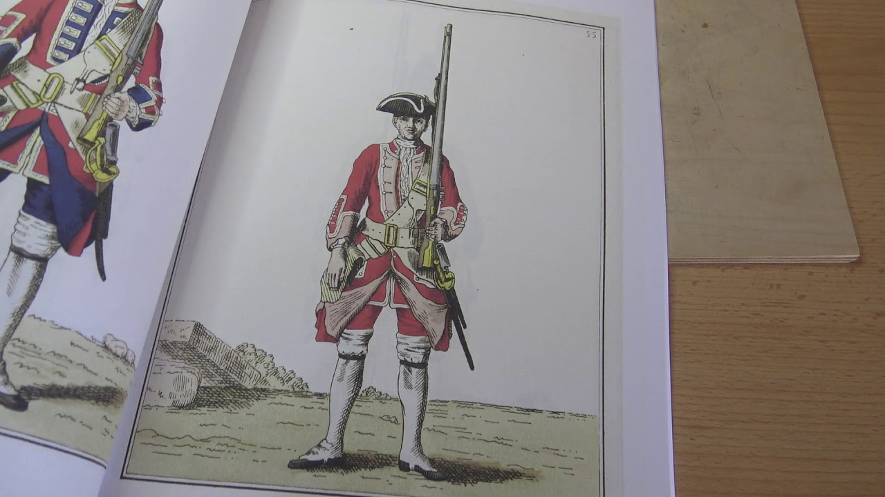Redcoat Uniforms of 1745   My Learning Curve