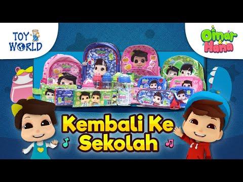Istimewa Kembali Ke Sekolah! | Omar & Hana | Toy World