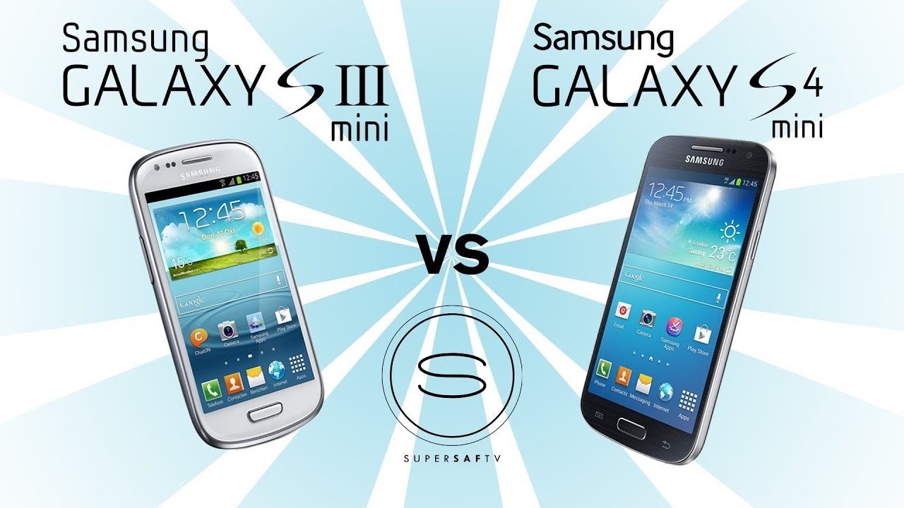samsung galaxy s4 mini vs samsung galaxy s3 mini youtube. Black Bedroom Furniture Sets. Home Design Ideas