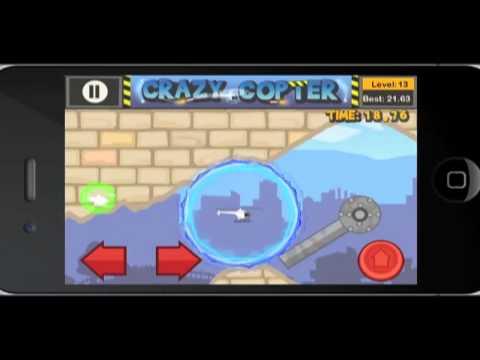 Paper Glider Crazy Copter - Gameplay Teaser