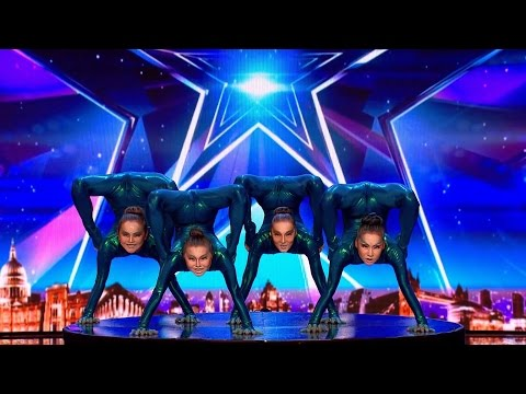Angara Contortion Beyond human opportunities | Britain's Got Talent 2017