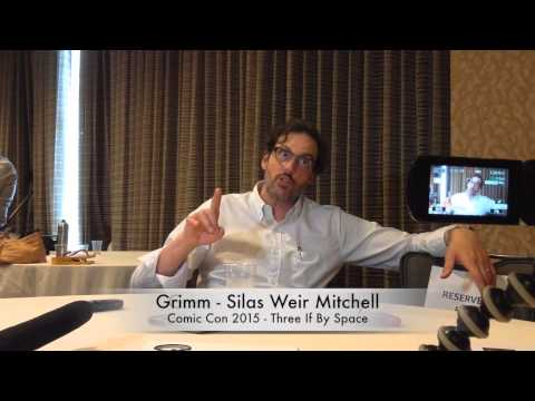SDCC 2015  Grimm's Silas Weir Mitchell Talks Monroe