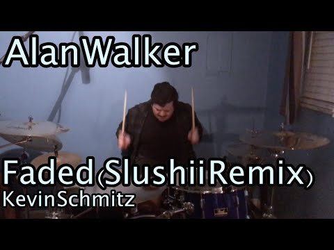 Faded (Slushii Remix) - Alan Walker | Drum Cover by Kevin Schmitz