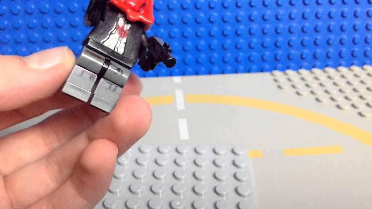 how to make a lego hood