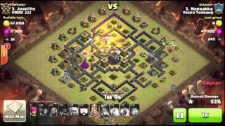 Clash of Clans | Vespa Terbang vs Viraj JJJ. No 3 vs No 3