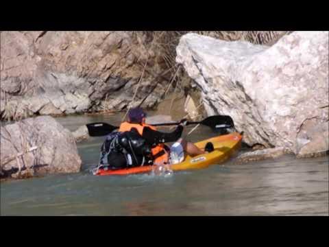 Aventura en canoa en Boquillas del Carmen con Extrematour Adventure Travel
