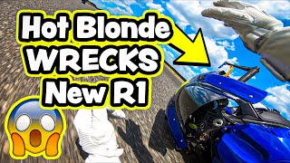 HOT BLONDE WRECKS NEW R1! **I CANT BELIEVE IT**