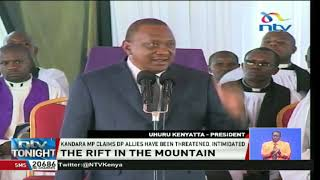 President Uhuru takes on DP's allies for 'abusing freedom of speech'