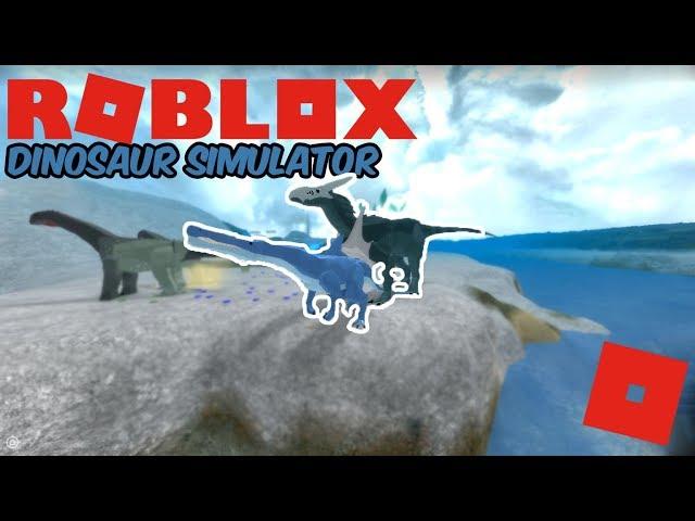 Roblox Dinosaur Simulator - Dolphin Ichthy Got In A War! ft. Devsaurs
