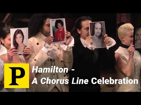 Hamilton  A Chorus Line Celebration