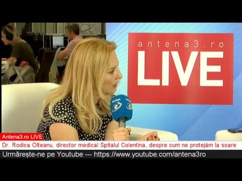 Antena3 ro LIVE cu Maria Coman - Cum ne protejăm de soare