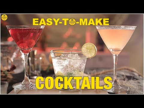 Easy To Make Cocktails At Home | Vodka Cocktail Recipes
