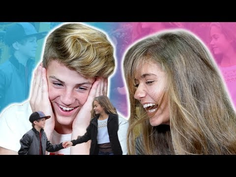 MATT & KATE REACT TO THEIR OLD CRINGY VIDEOS!!