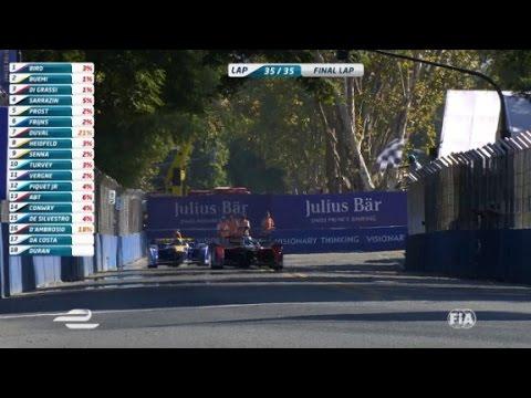 Fórmula E nuevo en acción en Buenos Aires