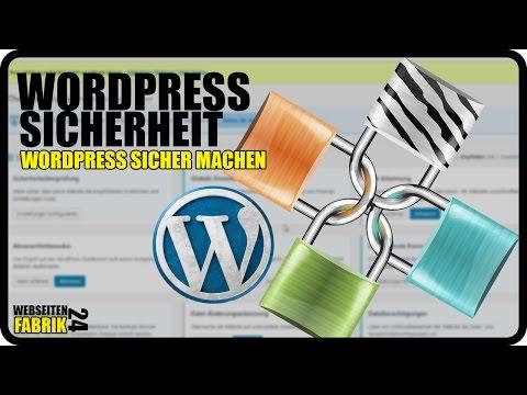 WordPress Sicherheit Plugin – Tutorial Deutsch/German WP Anleitung – WordPress sicher machen