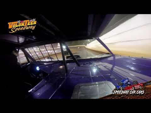 #00 Ruben Mayfield -Crate Late Model - 9-7-19 Volunteer Speedway - In-Car Camera