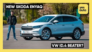 NEW Skoda Enyaq iV review: why buy a VW ID.4 over this?