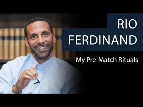 Rio Ferdinand | My Pre-Match Rituals | Oxford Union
