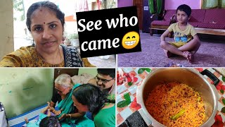 எவ்வளவு அழகான moment பாருங்க💕 | 2 days continuous vlog | Beetroot rice for lunch | Twins vegkitchen