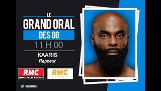 """Le rappeur Kaaris est l'invité des """"Grandes Gueules"""" sur RMC"""