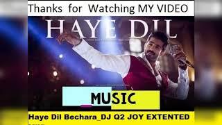 Haye Dil Bechara  DJ Q2 JOY EXTENTED MiX