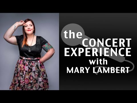 Mary Lambert Interview | AfterBuzz TV's The Concert Experience