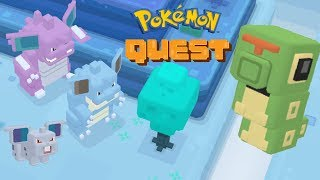 Pokémon Quest 8. Final Boss Fight NidoKing and NidoQueen in Hushed Highlands! (Pokémon: Let's Go)