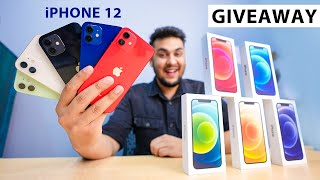 iPhone 12 Bohot KAMAAL Hai..! *UNBOXING All Colors* & GIVEAWAY!