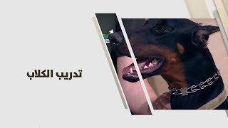 رعد مسمار ومنى مسمار -  تدريب الكلاب - ابداع
