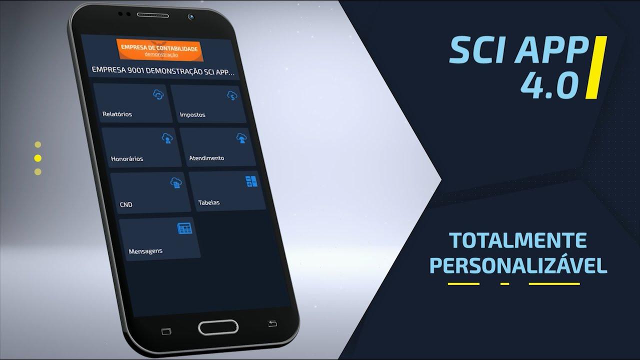 SCI APP 4.0 - Serviços contábeis na palma da mão!