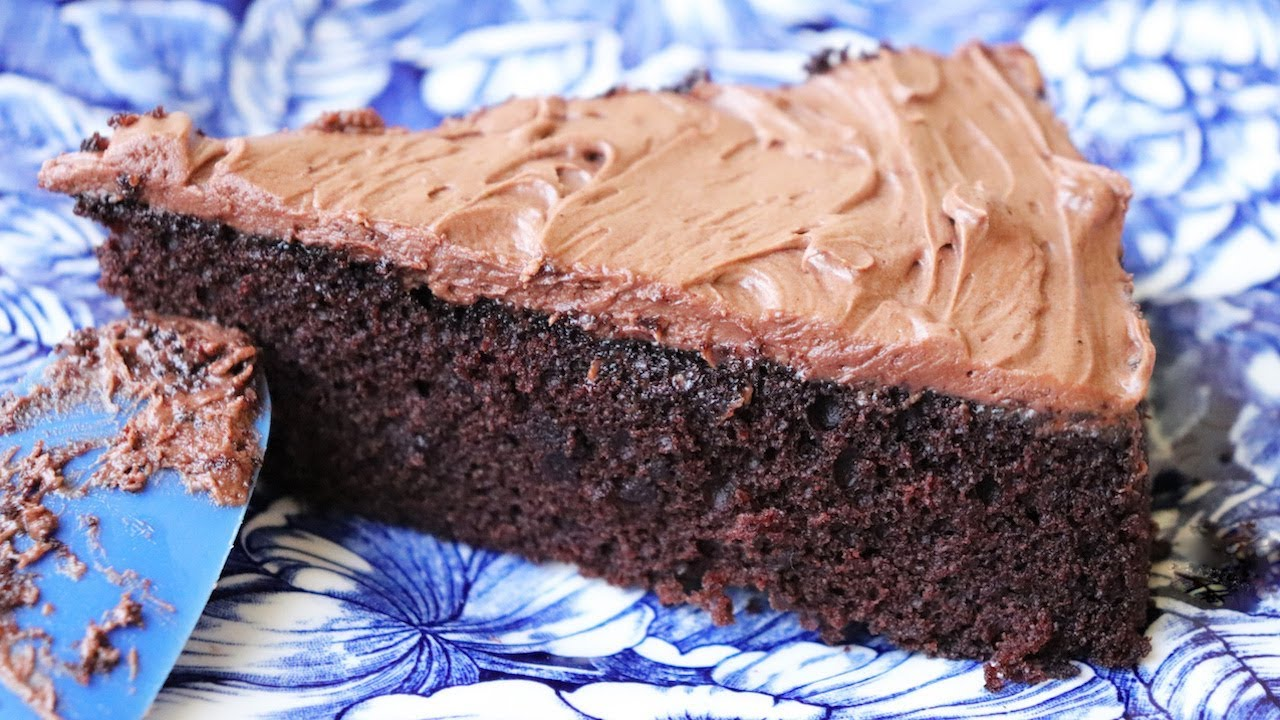 Image result for This Chocolate Cake Can Be Made Without Eggs and Butter
