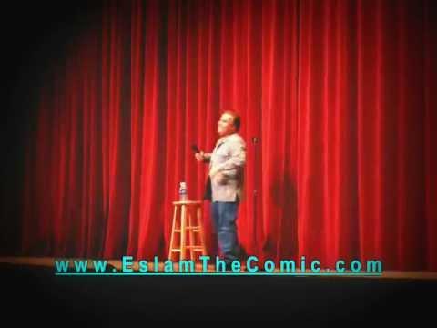 ESLAM The Comic (UC Davis, U Might B Persian) Farsi /English