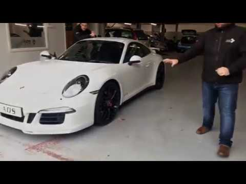 Porsche 991 GTS Akrapovic sound test ADS Live TV