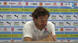 La réaction de Villas-Boas après OM 1-0 ASSE