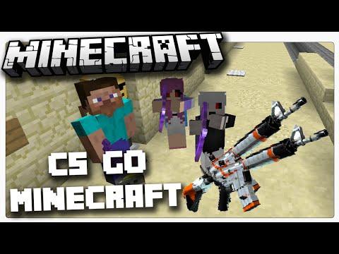 CS GO IN MINECRAFT?!
