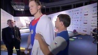 Кубок Президента 2012. Мужчины в.к. до 105 кг.
