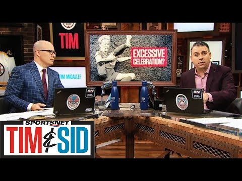 Did Team USA Excessively Celebrate During Their Record Setting Win Over Thailand? | Tim and Sid