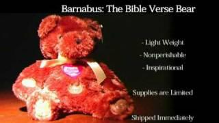 The Unique Talking Bible Teddy Bear