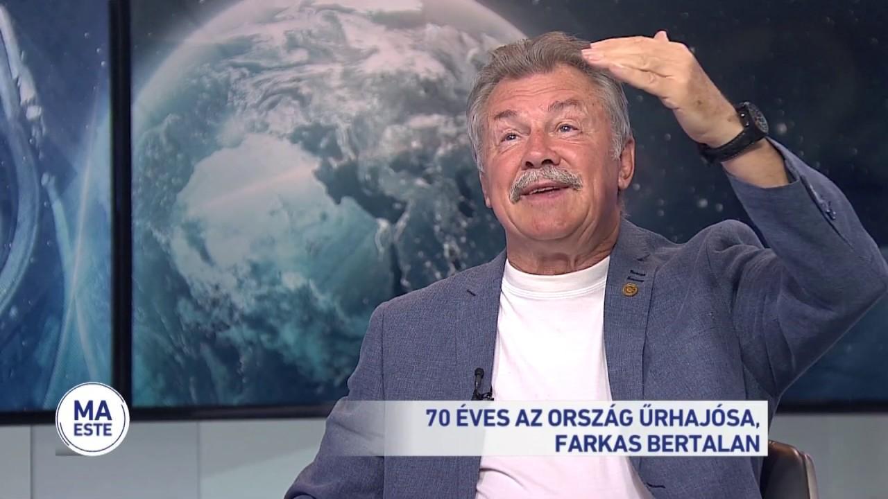 70 éves az ország űrhajósa, Farkas Bertalan - YouTube