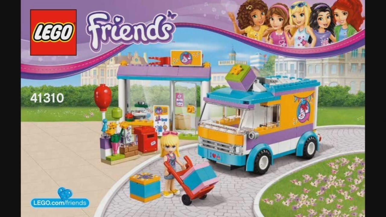 Lego Friends 41310 Heartlake Gift Delivery Instruction Timelapse