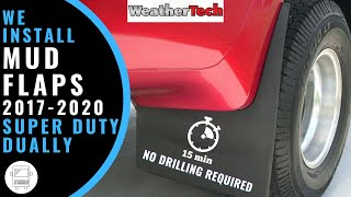 Video 2017 F350 Dually Mud Flaps by WeatherTech download MP3, 3GP, MP4, WEBM, AVI, FLV April 2018